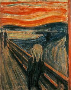 Edvard Munch: El grito, 1893. Nasjonalmuseet, Oslo.
