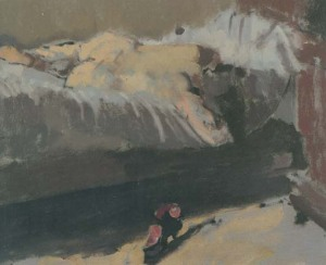 Walter Sickert: The rose shoe, ca. 1904-1905. Colección privada.
