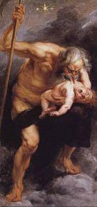 Peter Paul Rubens: Saturno devorando a un hijo, 1636. Museo del Prado, Madrid.
