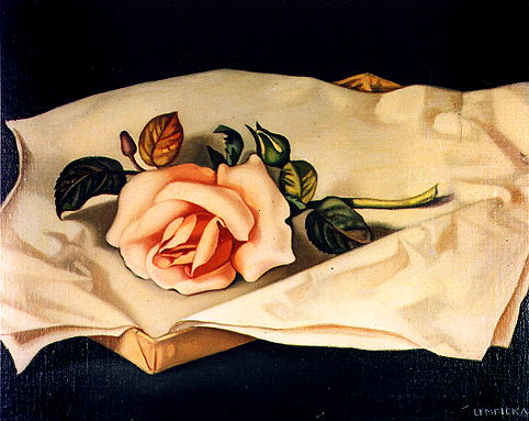 Tamara de Lempicka: A rosa, 1938. Colección Víctor Contreras, Ciudad de México.