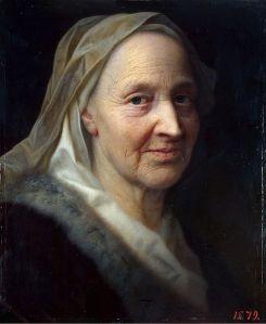 Balthasar Denner: Retrato de una anciana, ca. 1730. Museo Hermitage, San Petersburgo.