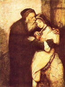 Maurycy Gottlieb: Shylock y Jessica, 1876. Obra extraviada.