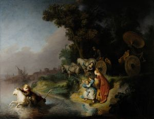 Rembrandt van Rijn: El rapto de Europa, 1632. John Paul Getty Museum, Los Angeles.