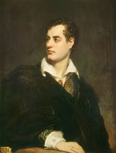 Thomas Phillips: Retrato de Lord Byron, 1824. National Portrait Gallery, Londres.