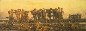 John Singer Sargent: Gaseados, 1919. Imperial War Museum, Londres.