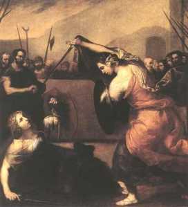 José de Ribera: Duelo, 1636. Museo del Prado, Madrid.