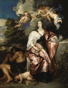 Anthpny van Eyck: Venetia, Lady Digby, 1634. National Portrait Gallery, Londres.