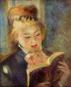 Pierre-Auguste Renoir: La liseuse, 1876. Musée d'Orsay.