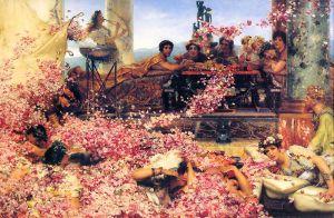 Sir Lawrence Alma-Tadema: Las rosas de Heliogábalo, 1888. Colección privada.