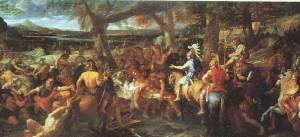 Charles Le Brun: Alejandro en el Hidaspes, 1673. Musée du Louvre.