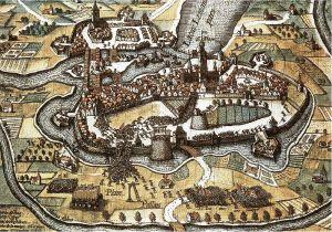 Anónimo: L'Escalade à Genève, 1602- (1622-1626. Del libro: Journal de temps de L'Escalade.