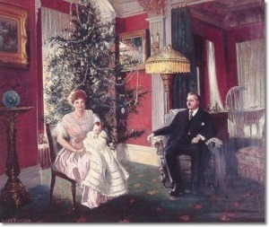 Harry Roseland: Christmas Morning, 1915. Colección privada.