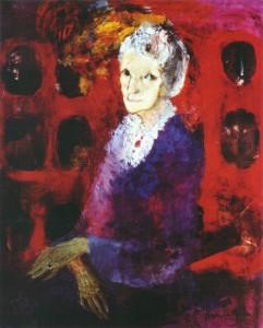 Haydée Lagomarsino de Miranda: Doña Leonor Acevedo de Borges, 1972. Colección privada.